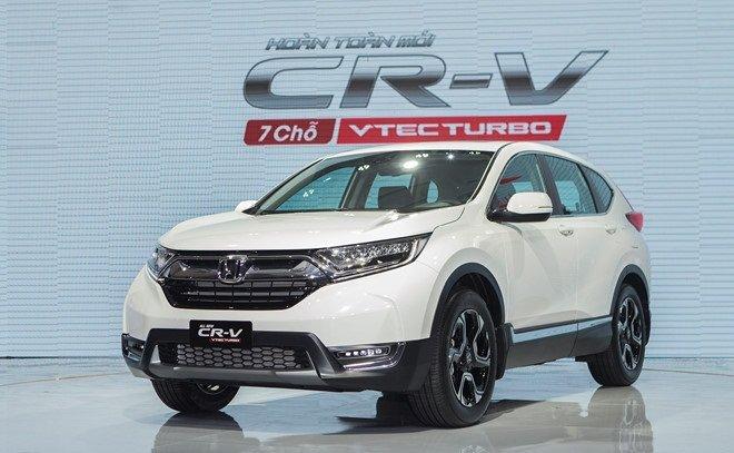 Giá xe Honda CR-V 2019 mới nhất tại Việt Nam...